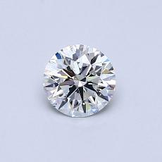Recommended Stone #4: 0,45-Carat Round Cut Diamond