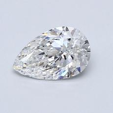 Recommended Stone #4: 0.73-Carat Pear Cut Diamond