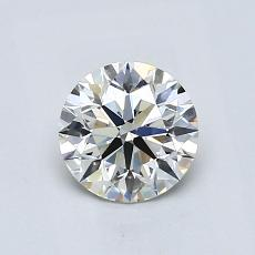 0.80-Carat Round Diamond Ideal G VS1
