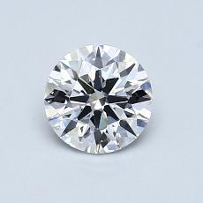 0.72 Carat 圆形 Diamond 理想 D VVS1