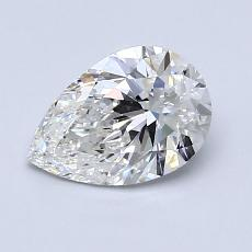 1.01-Carat Pear Diamond Very Good G VS1