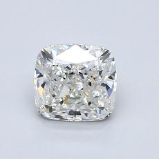 1.00-Carat Cushion Diamond Very Good H VVS2
