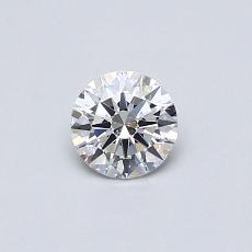 0.31 Carat 圓形 Diamond 理想 F VS2