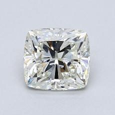 1.02-Carat Cushion Diamond Very Good I VS1