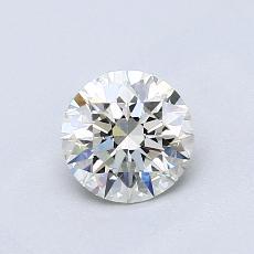 0.70 Carat Redondo Diamond Ideal I VVS2