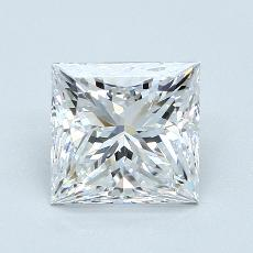 2,03-Carat Princess Diamond Very Good D VVS2