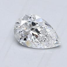 0.70-Carat Pear Diamond Very Good D VS1