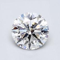 1.02 Carat 圆形 Diamond 理想 E VVS1