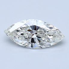 1,01-Carat Marquise Diamond Very Good J SI2