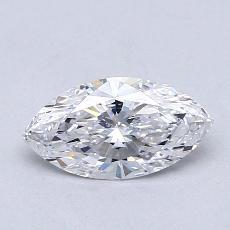 0,74 Carat Marquise Diamond Très bonne D VVS1