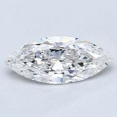 0,91-Carat Marquise Diamond Good E VVS1