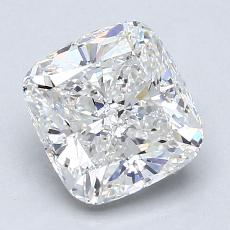 2,02-Carat Cushion Diamond Very Good F VS2