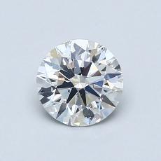 0.72 Carat 圆形 Diamond 理想 H SI1