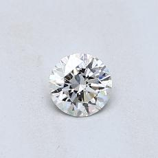 0.31-Carat Round Diamond Ideal J SI2