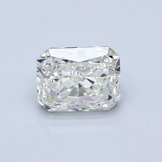 0.80-Carat Radiant Diamond Very Good H VVS1