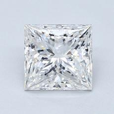 2.01-Carat Princess Diamond Very Good D VVS1