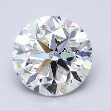 2.00-Carat Round Diamond Very Good G VS2