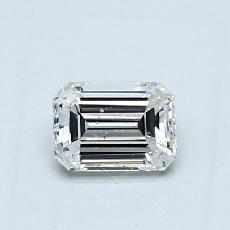 Recommended Stone #3: 0.47-Carat Emerald Cut Diamond