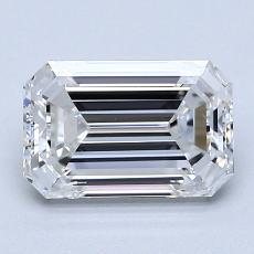 Recommended Stone #4: 1.56-Carat Emerald Cut Diamond