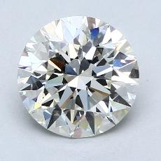 Recommended Stone #1: 3.08-Carat Round Cut Diamond