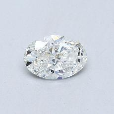 Recommended Stone #3: 0.37-Carat Oval Cut Diamond
