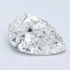 Recommended Stone #4: 1.51-Carat Pear Cut Diamond