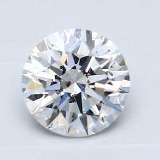 推薦鑽石 #2: 1.10 克拉圓形切割鑽石