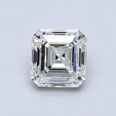 Recommended Stone #3: 0.92-Carat Asscher Cut Diamond
