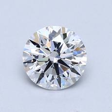 Target Stone: 0.91-Carat Round Cut Diamond
