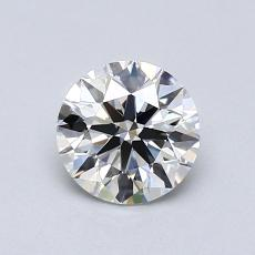 Recommended Stone #3: 0.75-Carat Round Cut Diamond