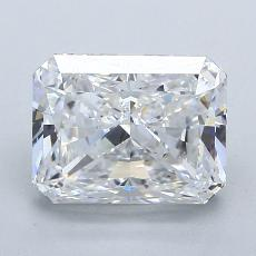 2.52-Carat Radiant Diamond Very Good D VS1