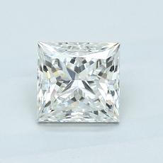 1.03 Carat Princesa Diamond Muy buena H VVS1