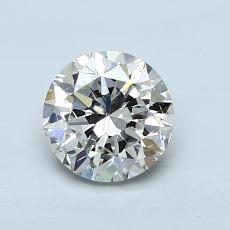 1.01-Carat Round Diamond Good I SI1