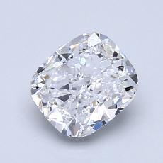 オススメの石No.1:1.30カラットのクッションカットダイヤモンド