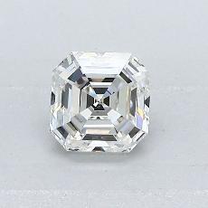 Piedra recomendada 2: Diamante de talla Asscher de 0.71 quilates
