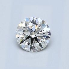 0.63 Carat 圆形 Diamond 理想 H VS1