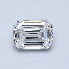 Pierre recommandée n°4: Diamant 0,91carat taille émeraude