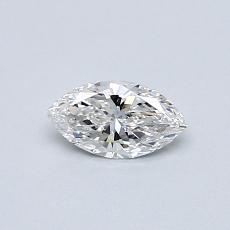 0.30-Carat Marquise Diamond Very Good E VVS1
