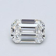 Recommended Stone #2: 0,82-Carat Emerald Cut Diamond