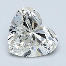 推薦鑽石 #3: 2.03 克拉心形切割鑽石