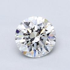 1.00 Carat Redondo Diamond Ideal D VS2