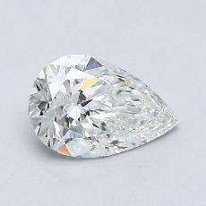 0.70-Carat Pear Diamond Very Good E VVS2