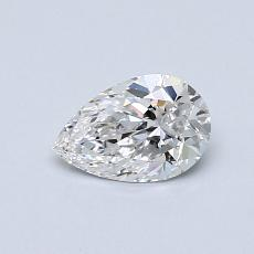 0.51 Carat 梨形 Diamond 非常好 E IF