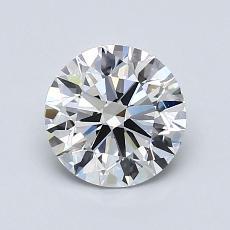 1.07-Carat Round Diamond Ideal E VVS2