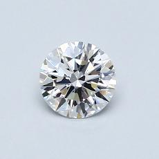 Recommended Stone #2: 0.53-Carat Round Cut
