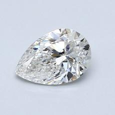 0.80-Carat Pear Diamond Very Good E VS1
