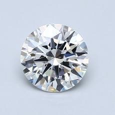 1.01 Carat 圆形 Diamond 理想 G SI2