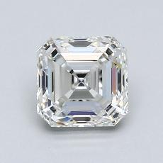 1.06-Carat Asscher Diamond Very Good G VS1