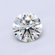 0.74 Carat 圓形 Diamond 理想 K VVS2