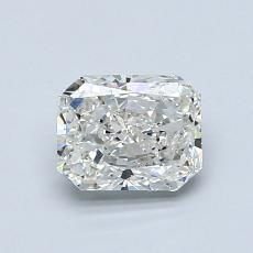 1.00-Carat Radiant Diamond Very Good I SI1